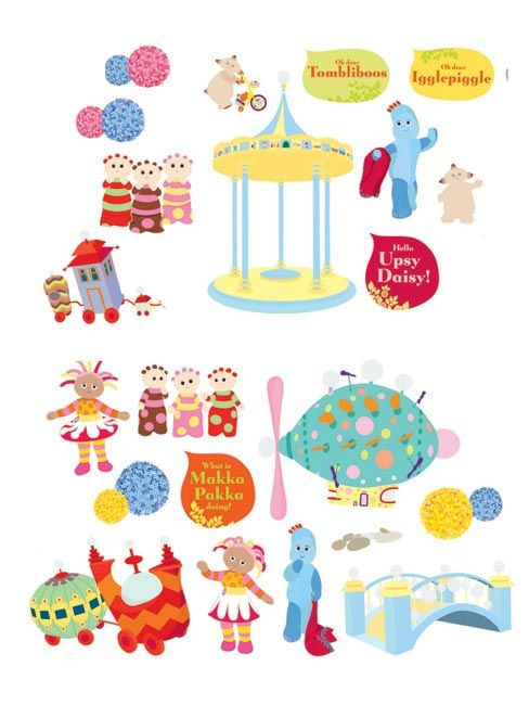 Good In The Night Garden Stickers   Google Search Part 8