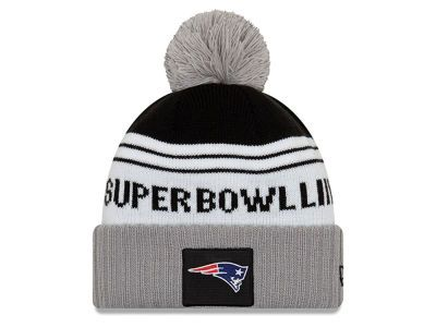 Cozy up with a New England Patriots New Era NFL Super Bowl LIII Participant  Pom Knit ca7078249
