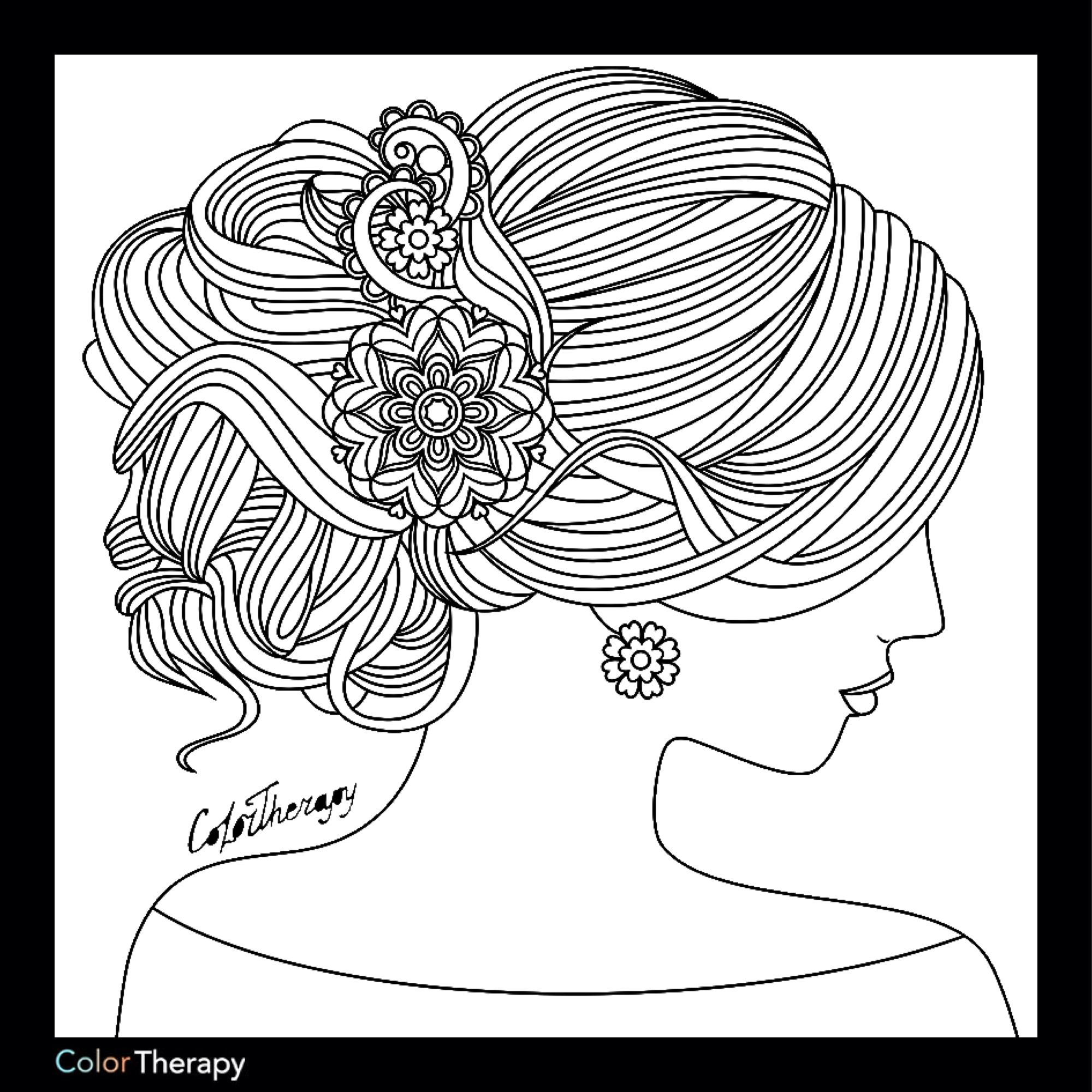 Colortherapy Coloring Pages Coloring Books Designs Coloring Books