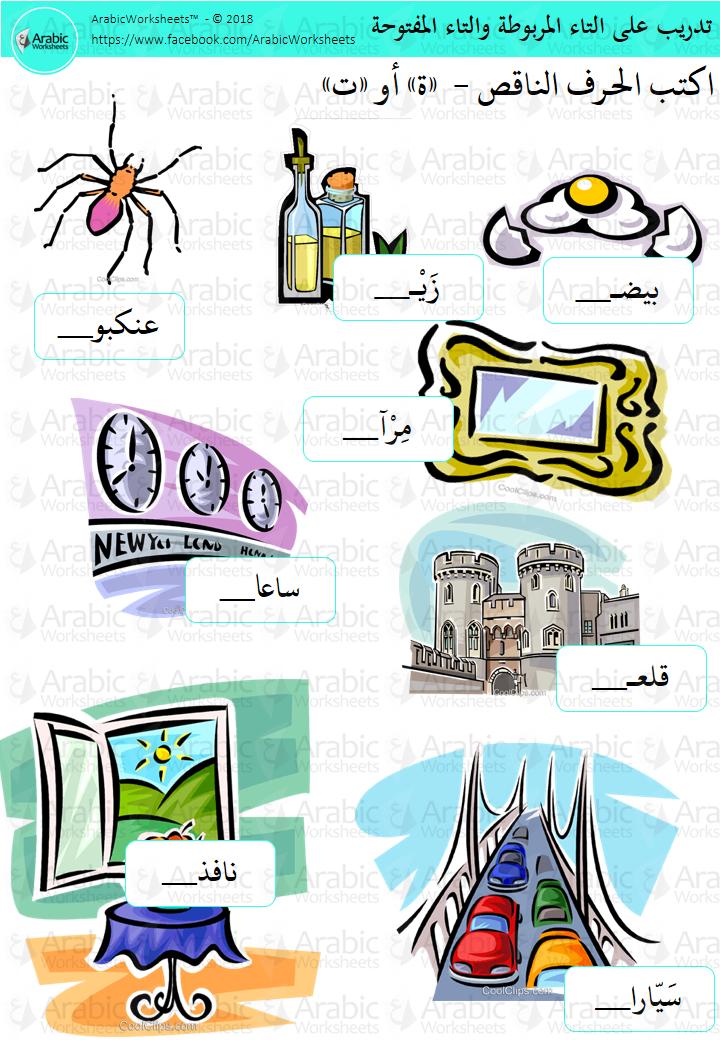 التاء المربوطة والتاء المفتوحة Arabic Kids Learning Arabic Learn Arabic Online