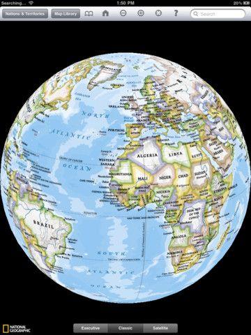 National Geographic World HD – Une mappemonde sur iPad ! La National  Geographic Society fut fondée le 13 janvier … | Homeschool history,  Sonlight, Teaching history