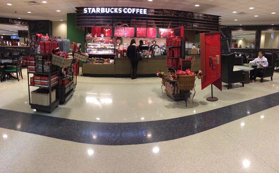 Starbucks In The High Point University Wanek Center High Point