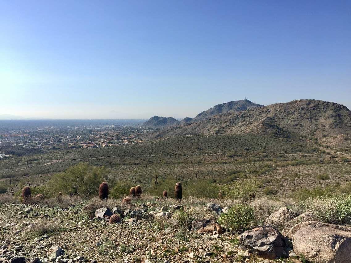 North Mountain East Loop Hike 3.0 miles in Phoenix, AZ