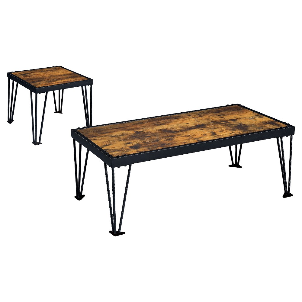 Carolin Coffee Table Black Iohomes Coffee Table Industrial Coffee Table Metal Coffee Table