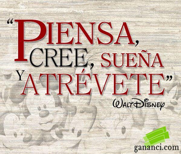41 Frases De Walt Disney Para Motivarte A Lograr Tus Sueños Frases De Walt Disney Frases Frases Inspiradoras De Disney
