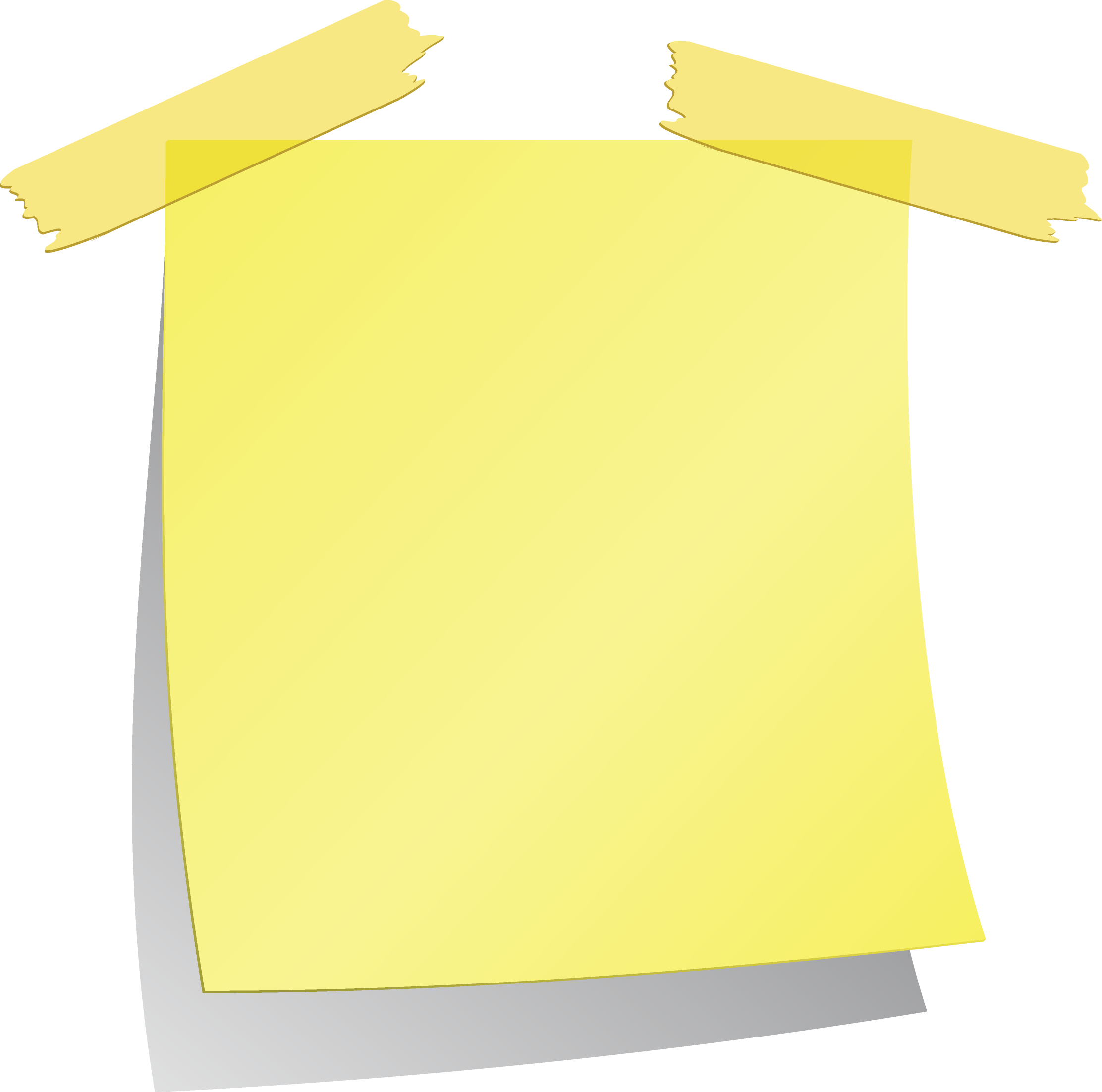 Yellow Sticky Notes Png Image Yellow Sticky Notes Sticky Notes Sticky Notes Collection