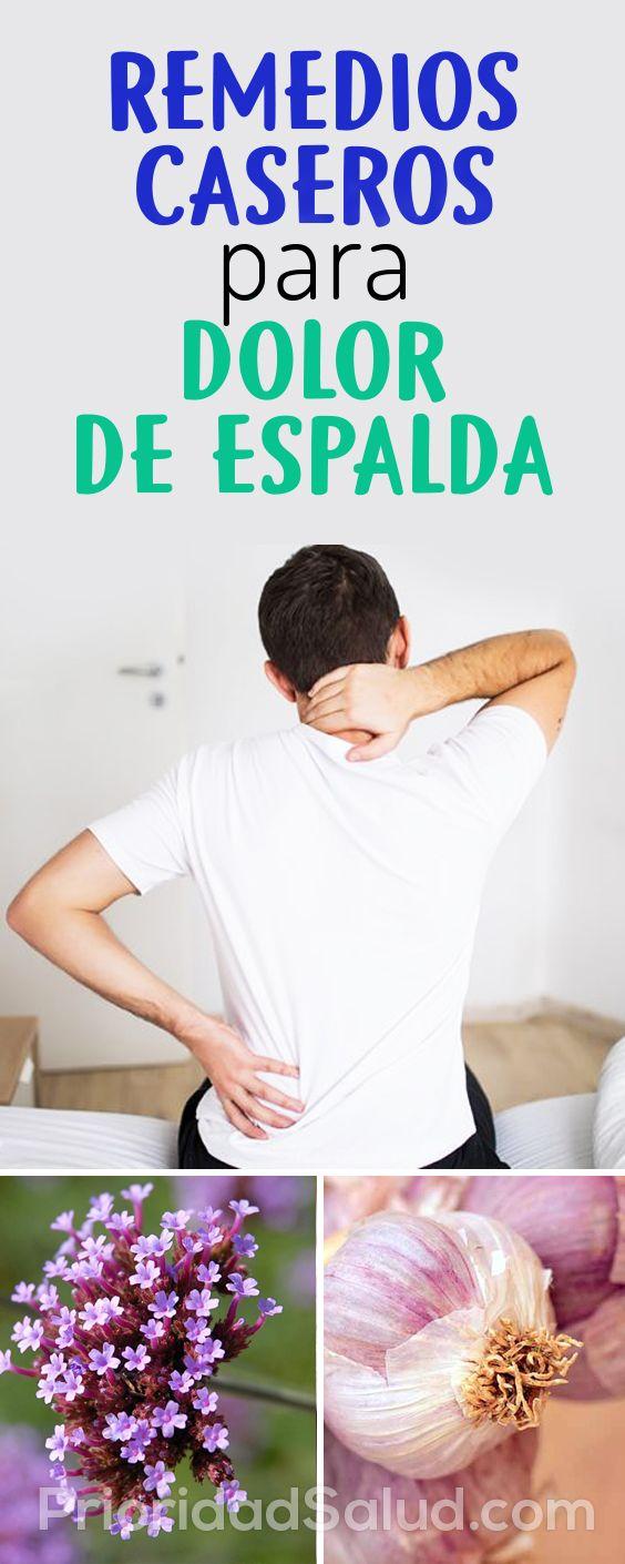 remedios caseros para dolores musculares espalda