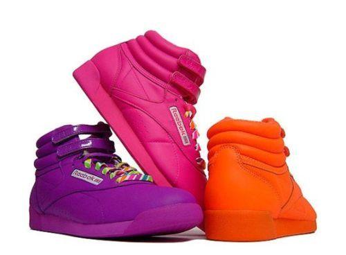 Old school Reebok high top sneakers