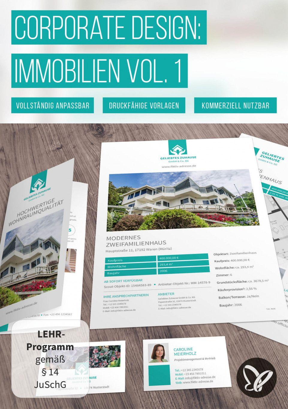 Elegantes Corporate Design Für Immobilienfirmen Und