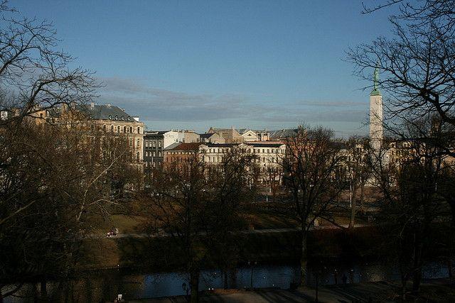 Riga's Old Town, Riga, Latvia