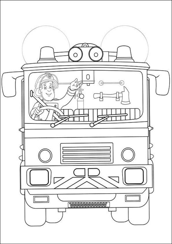 Feuerwehrmann Sam Zum Drucken 43 Fire Time Ausmalbilder
