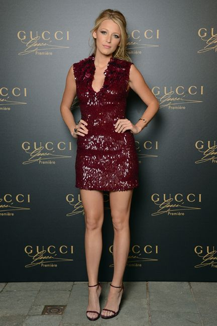 The 20 Best Legs Throughout History Blake Lively Style Embroidered Cocktail Dress Fashion