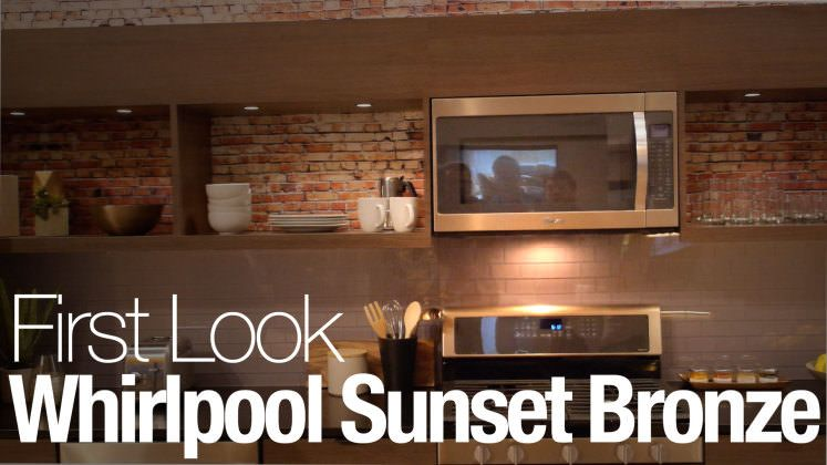 Whirlpool Says Stainless Is Out, Sunset Bronze Is In