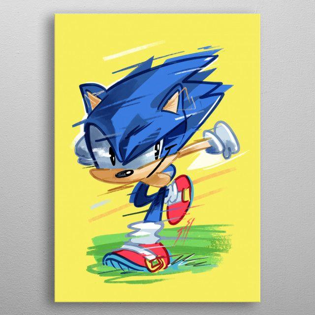 Sonic   Displate thumbnail