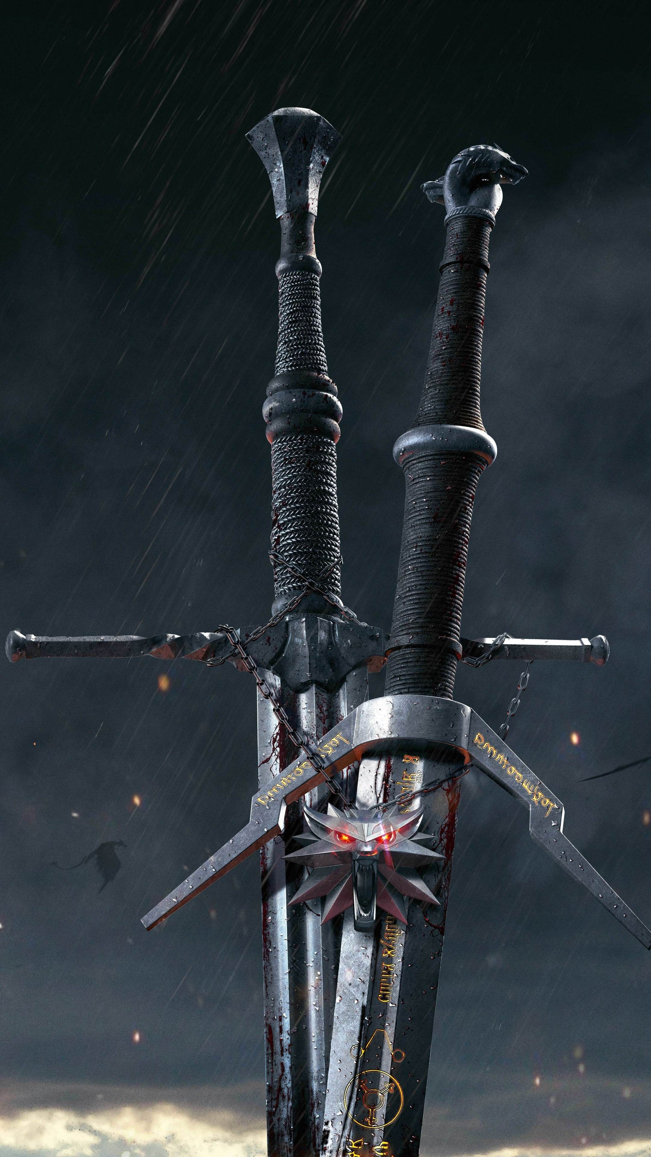 The Witcher 3 Iphone Wallpaper Witcher Tatuagem Witcher
