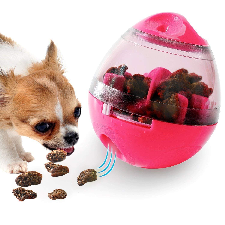 Soo Angeles Dog Food Dispenser Ball Toy Interactive Iq Treat Ball