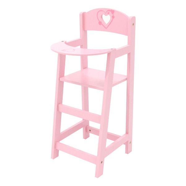 chaise haute pour poupée | love, bebe and king