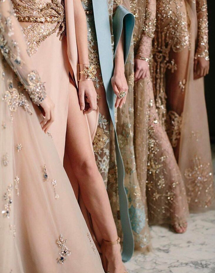 Backstage at Elie Saab Haute Couture SS17
