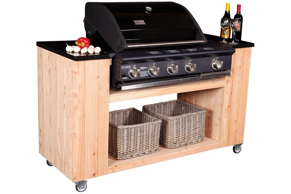 Meer dan 100 typen buitenkeukens en barbecues — Fonteyn