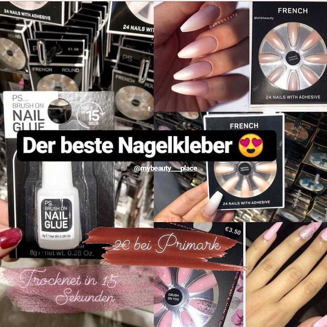 Follow us for more Nagelkleber von Primark Kostet nur 2