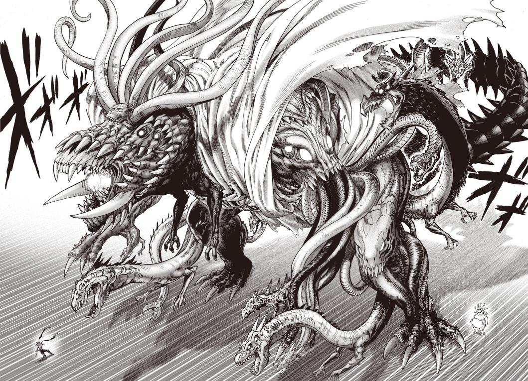 Monster King Orochi by Yusuke Murata art artwork