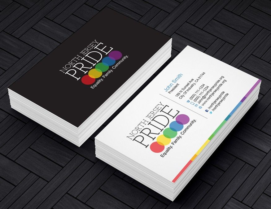 Help north jersey pride with a new business card by carnn business help north jersey pride with a new business card by carnn reheart Choice Image