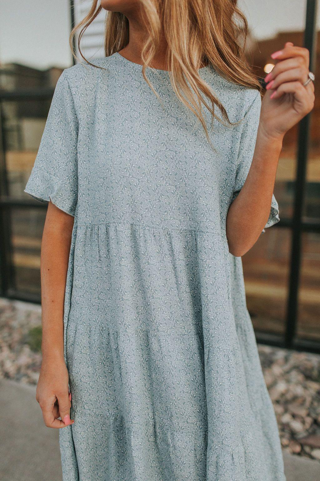 Lightweight Summer Dress Dresses Blue Dresses Stylish Leggings [ 1536 x 1024 Pixel ]