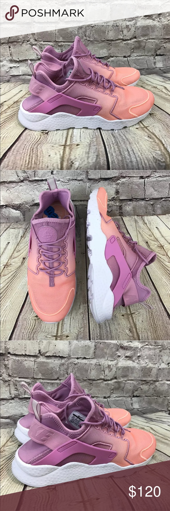 60669e960d88 Nike Huarache Run Ultra BR Orchid Sunset Glow You are purchasing a New pair  of