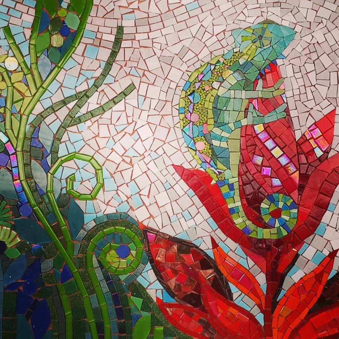 14 Pin by clauvrarei on mosaic wall art   Mosaic flowers, Mosaic art ...