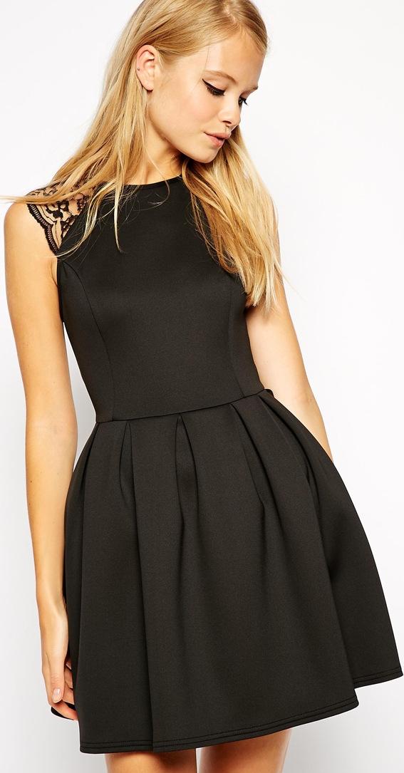 e81a0a667 30 Beautiful Little (and Long) Black Bridesmaid Dresses