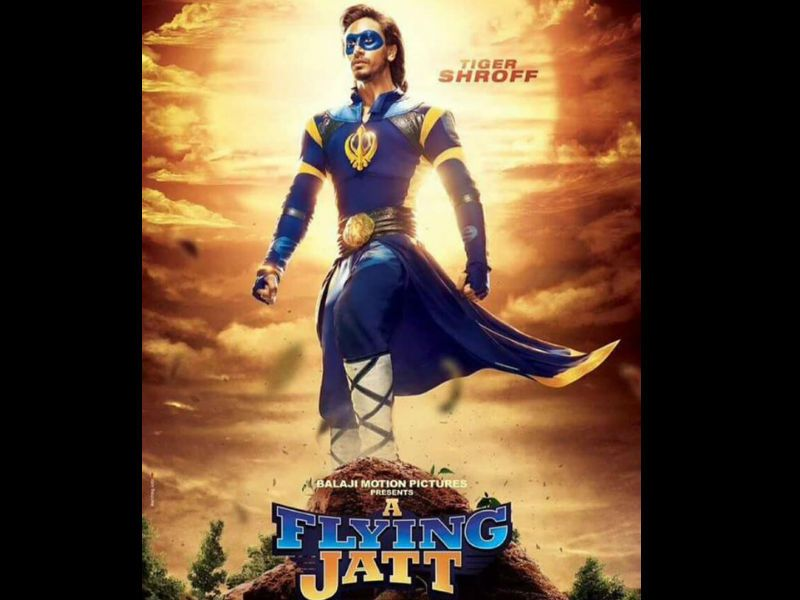 First look posters of Tiger Shroff's 'A Flying Jatt' have been revealed. Nathan Jones plays the lead villain.