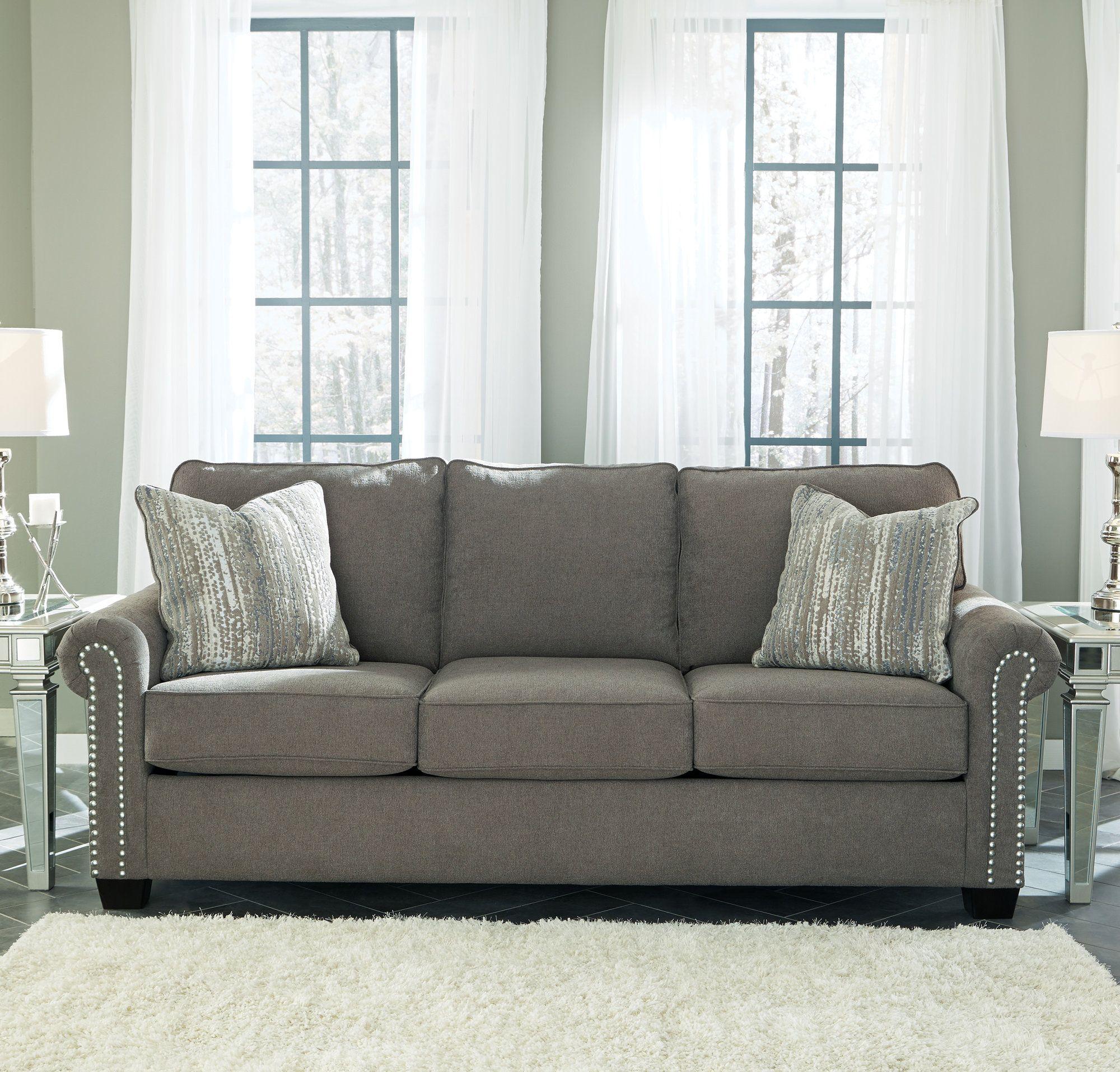Slate Nalini Sofa View 1 Apartment Decor Pinterest