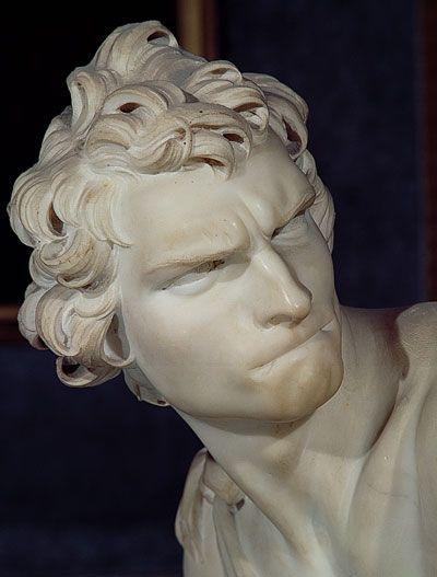 David by Bernini (1623)   Les Mecs in 2019   Bernini sculpture