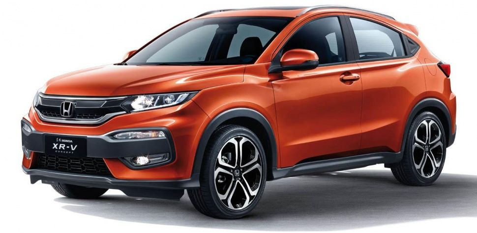 Honda Debuts Chinese Market Xr V Pictures Digital Trends Honda Hrv Car Honda