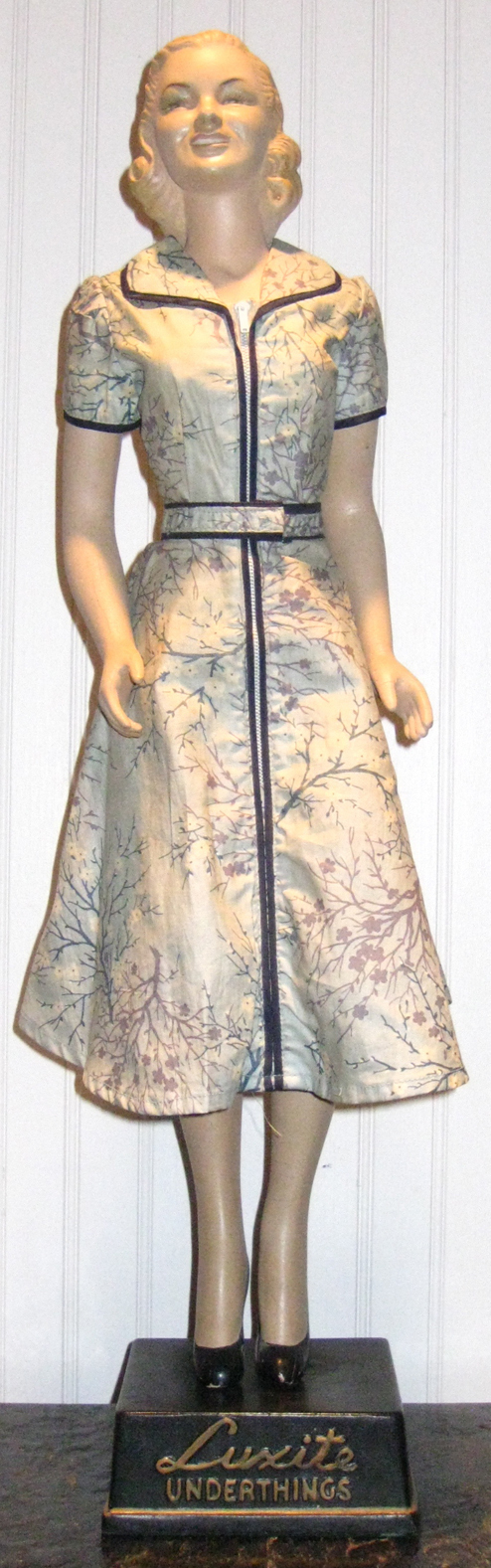 1940 39 s luxite princess peggy mini mannequin advertising figure store display mannequins. Black Bedroom Furniture Sets. Home Design Ideas