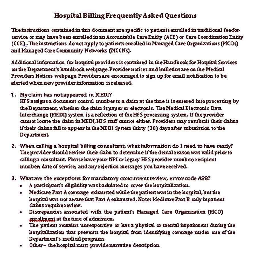 Hospital Receipt Sample Templates Care Coordination Receipt Template Hospital Administration