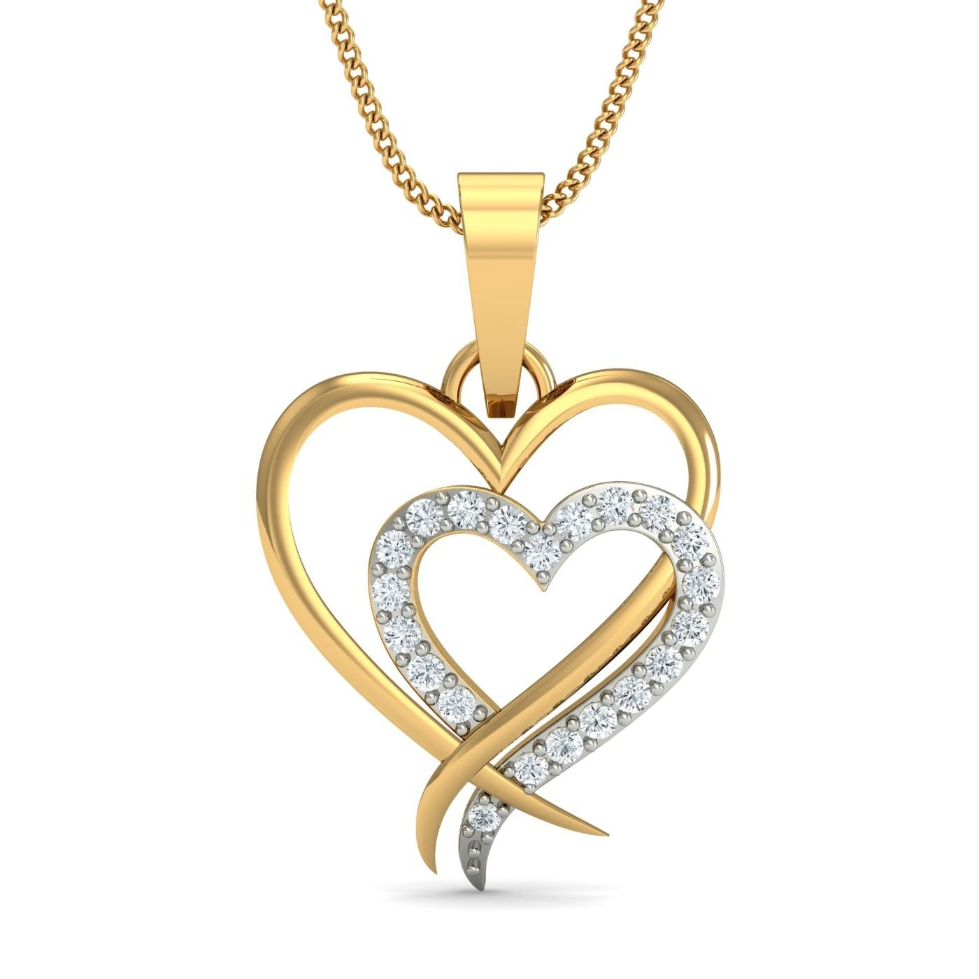 Gold heart pendant online shopping india 30 days returns gold heart pendant online shopping india 30 days returns hallmarked certified jewellery aloadofball Gallery