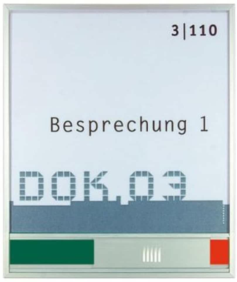 Türschild mit Frei Besetzt Anzeige New Age 150x133x6mm SignSystems NA5104 | findegut.de