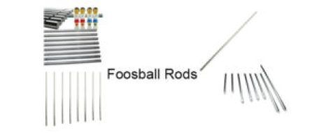 foosball rods foosball table parts and accessories foosball table rh pinterest com foosball table parts ebay foosball table parts amazon
