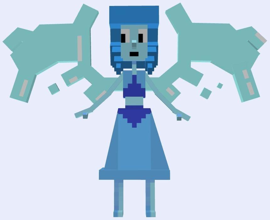 Minecraft Lapis Lazuli Lapis Lazuli Steven Universe Steven Universe Minecraft Anime