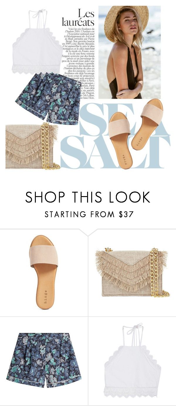 """Sunny June"" by emma-danewa ❤ liked on Polyvore featuring Hinge, Cynthia Rowley, Burberry and Front Row Shop"