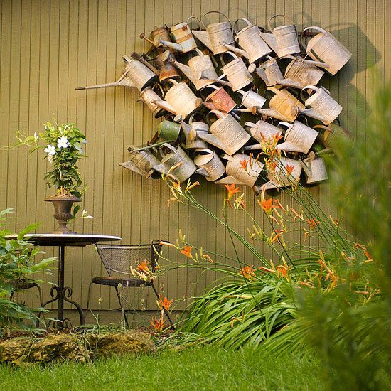 Find Cool Planting Places Repurposed Items Such As Bathtubs, Toilets, And  Cinder Blocks Are