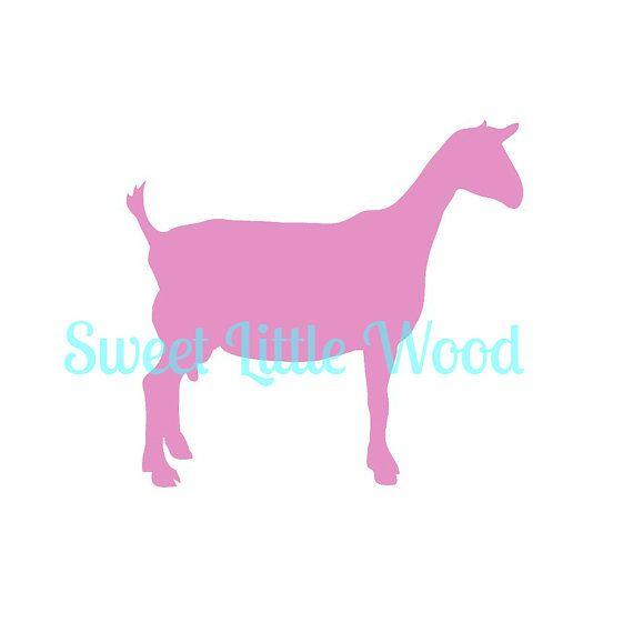 Download Dairy Goat 4-H / FFA SVG file   Cricut design studio, Heat ...