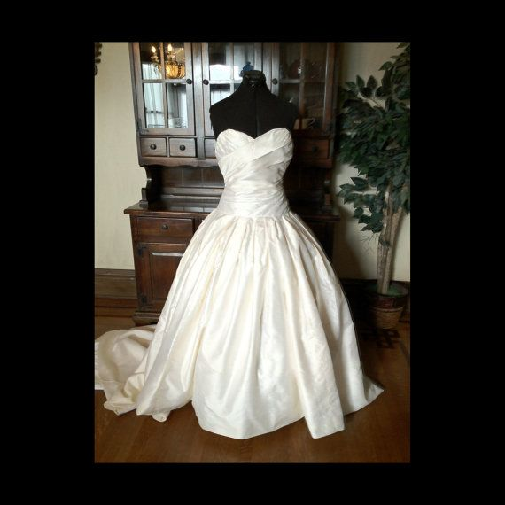 Reconstructed Christian Dior wedding gown | Christian Dior Wedding ...