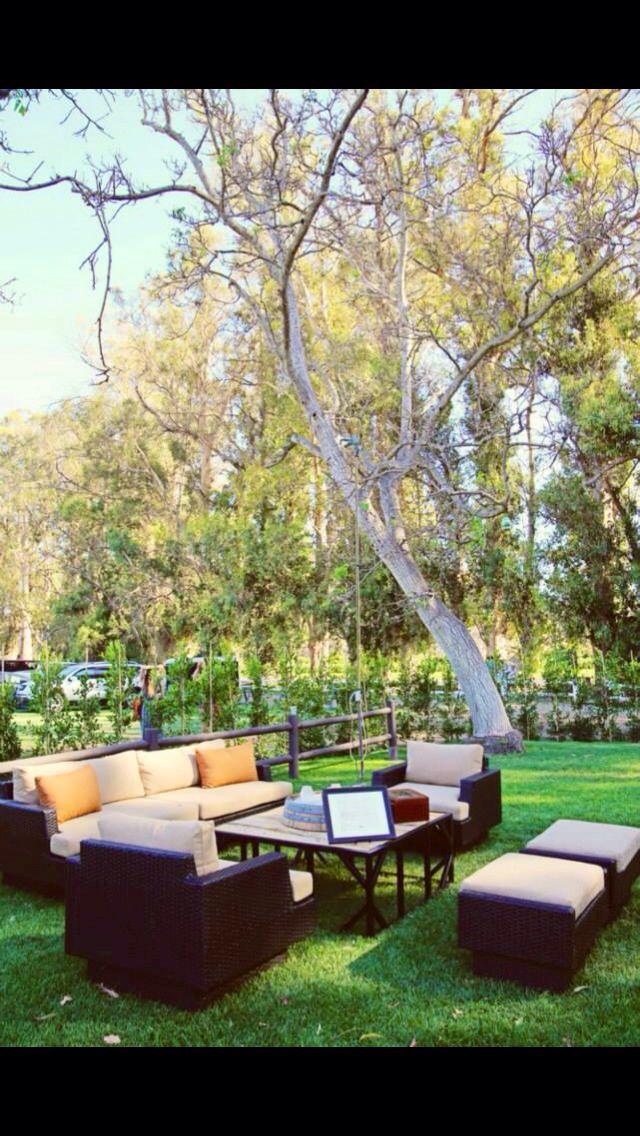Cigar bar or just lounge set up option for outdoor