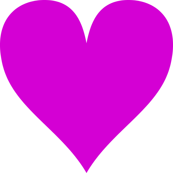 Pin By Allie Love On Hearts Clip Art Vector Clipart Purple Heart