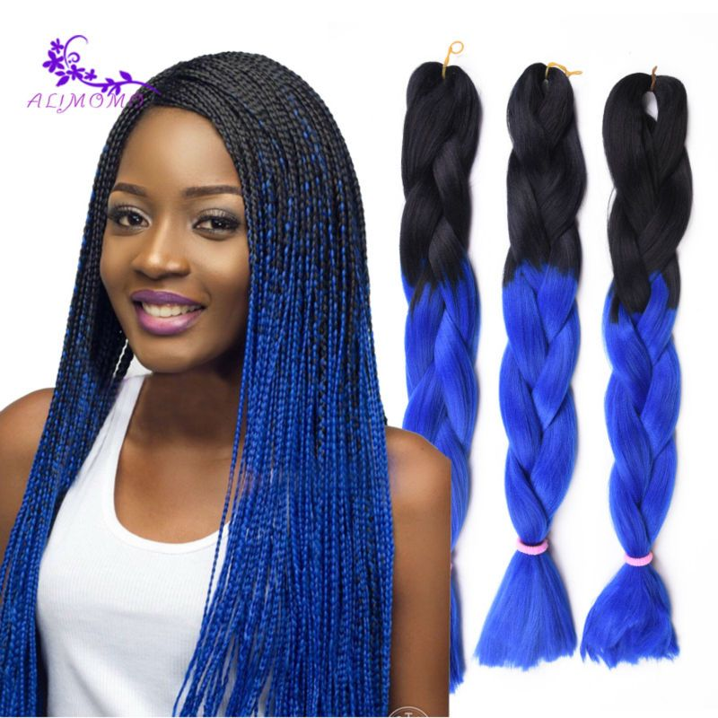 Hair Color For Black Quality Barrettes Thick Directly From China Products Long Suppliers 1b Blue Braiding