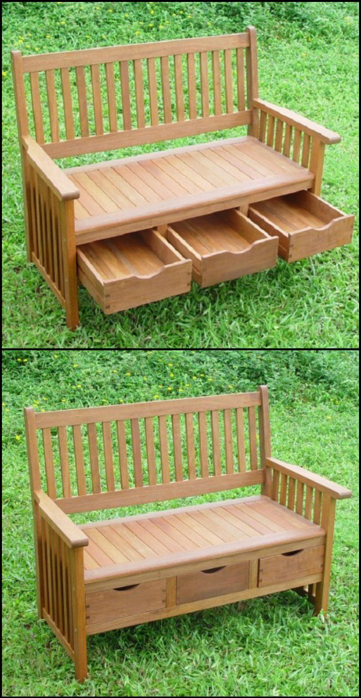 It's a comfy bench. It's a storage box. It's practically