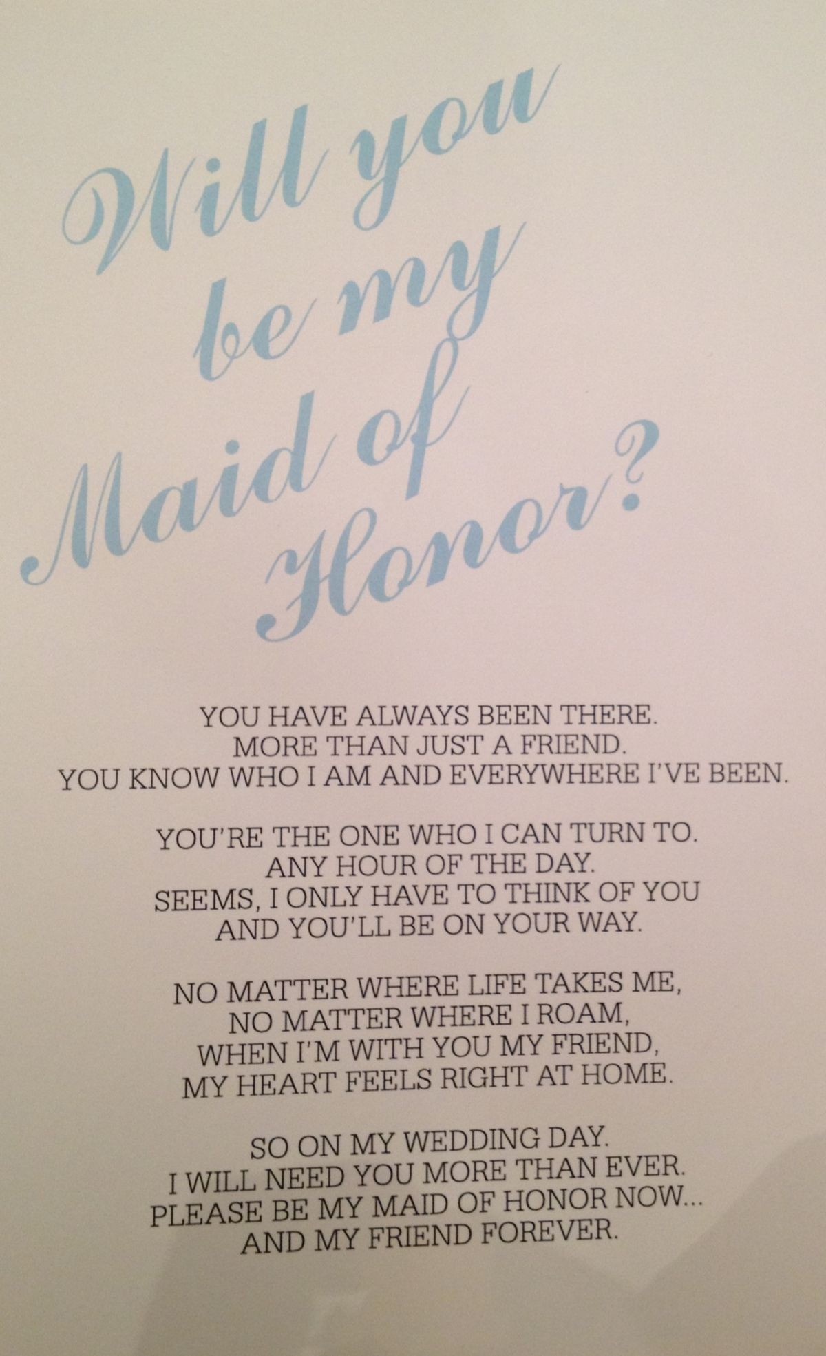 flower girl proposal quotes