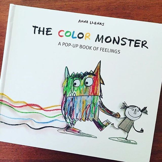 kindergarten the color monster perfect book for helping young children understand emotions and also about self
